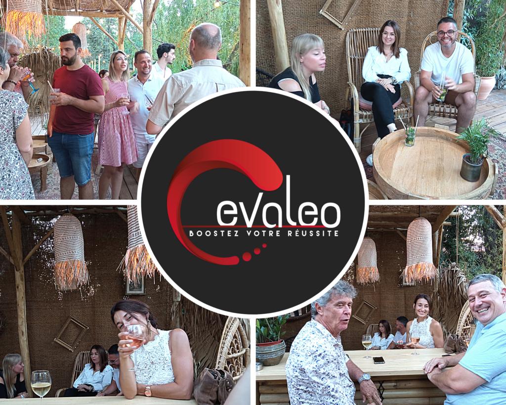 Soirée organisée avec les membres de l'équipe Evaleo Avignon