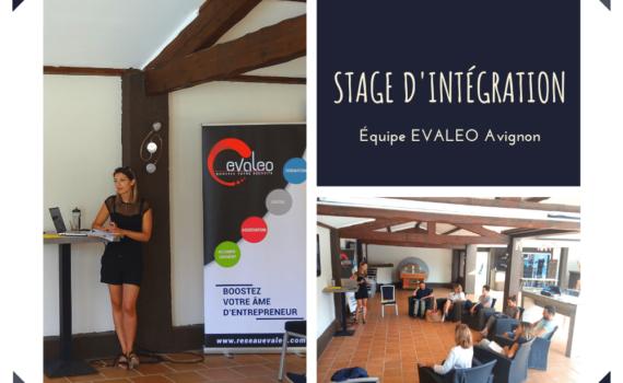 Stage d'intégration EVALEO Avignon 03/08/2021