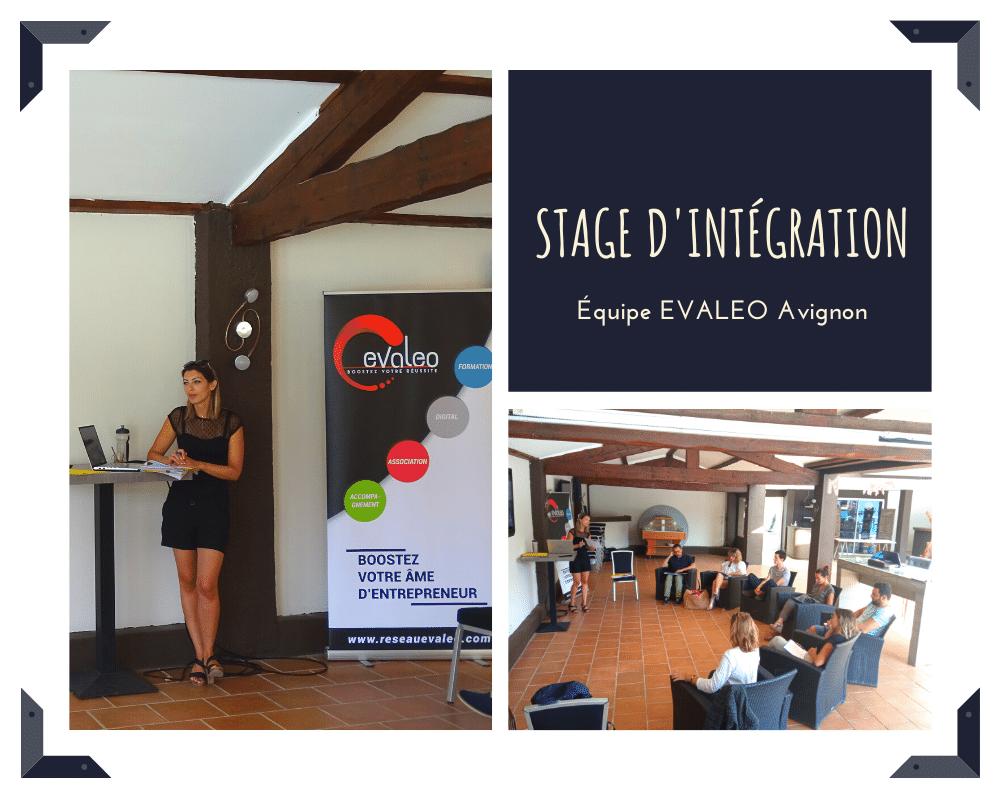 Stage d'intégration EVALEO Avignon du 03/08/2021